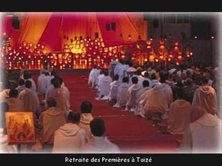 Premières en retraite à Taizé