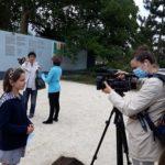 Sortie à Notre-Dame pour le concours de dessin-Interview d'une élève