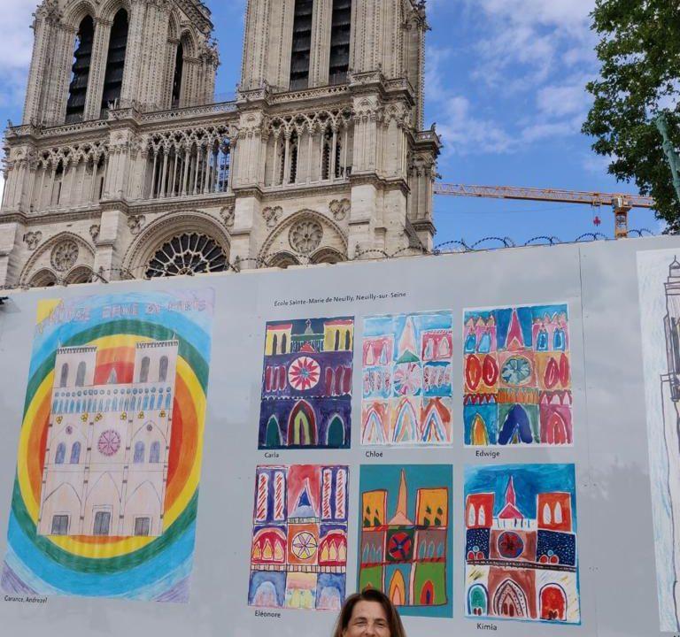 Palissade Notre-Dame. Concours de dessin