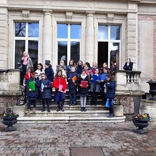 Chroale de Noël au petit Collège de Sainte Marie de Neuilly